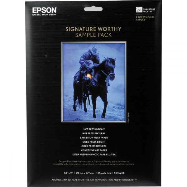 Signature Worthy Sample Pack